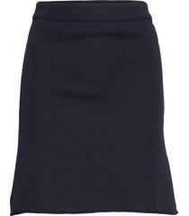 cecile skirt kort kjol blå busnel