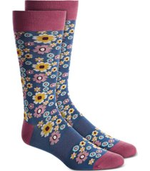 bar iii men's hippy print socks, created for macy's