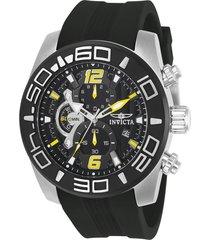 reloj invicta negro modelo 228gn para hombres, colección pro diver