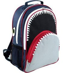 mochila infantil mumagi escolar tubarão tuba masculino