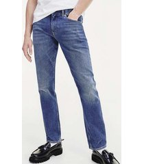 jeans slim bleecker azul tommy hilfiger