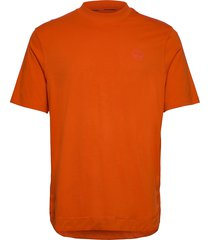 silbe t-shirts short-sleeved orange napapijri
