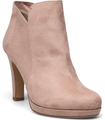woms boots - lycoris shoes boots ankle boots ankle boot - heel beige tamaris