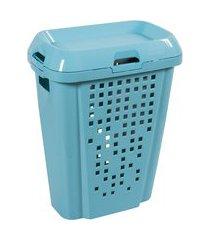 cesto de roupas 45l compartimento removível astra k/rb6-az1-br azul
