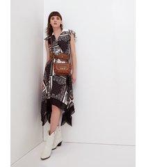 motivi vestito foulard donna nero