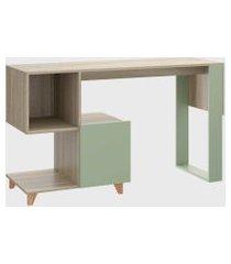 mesa estante aveiro/verde/verde be mobiliário