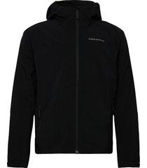 m nightbreak jacket coniferous green tunn jacka svart peak performance