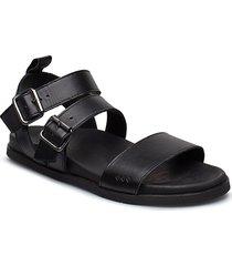 route sandal shoes summer shoes flat sandals svart royal republiq