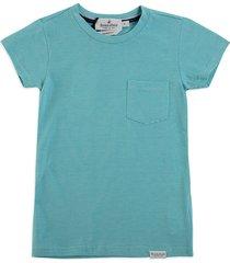 camiseta  brooksfield dk agua