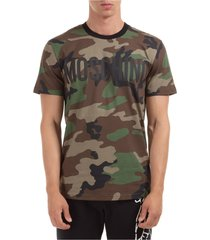 men's short sleeve t-shirt crew neckline jumper logo