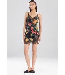 miyabi silk chemise pajamas / sleepwear / loungewear, women's, 100% silk, size l, josie natori