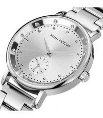 reloj mini focus mf0037l-2 mujer plata