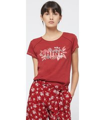 etam - t-shirt piżamowy klem