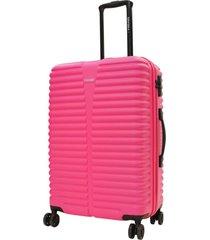 maleta dura chicago m rosado abs head