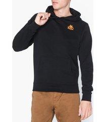 kappa sweat hood willie tröjor svart/orange