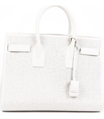 saint laurent small sac de jour studded satchel