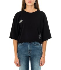 disclaimer t-shirt donna maglia in jersey 21eds50647