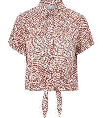 blus vimoras s/s tie shirt