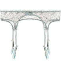 myla rosemoor street suspender belt - blue