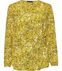 minka blouse lange mouwen geel stella nova