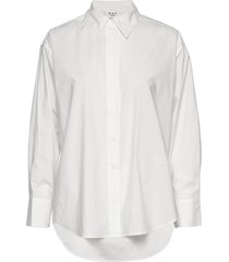 day barca långärmad skjorta vit day birger et mikkelsen