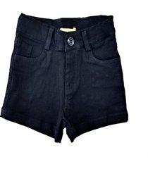 shorts doc kids tassia sarja preto