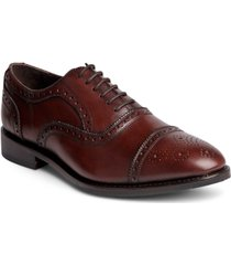 anthony veer men's ford quarter brogue oxford lace-up dress shoe men's shoes