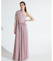 motivi vestito monospalla xmas edition donna rosa