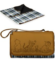 oniva disney's winnie the pooh outdoor picnic blanket with blanket tote