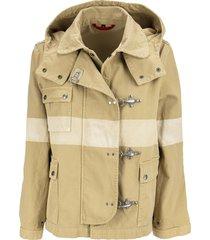 fay 4 hooks cotton jacket