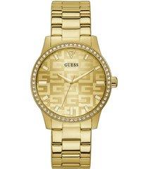 reloj guess g check gw0292l2 - dorado