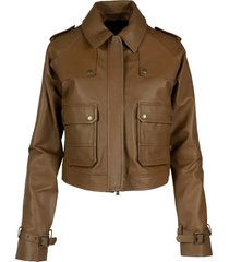 andrea damico zulema leather jacket