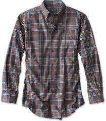 battenkill cotton blend long-sleeved shirt / regular, blue/tan multi, xx large