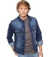 campera azul lee jean denim
