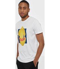 selected homme slhevan ss o-neck tee b t-shirts & linnen vit