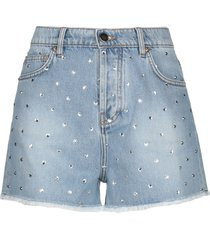 alexandre vauthier denim shorts