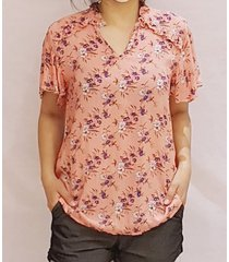 blusa coral pink sisly s21