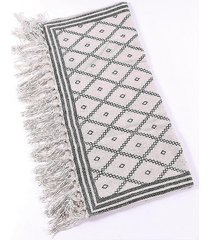dywan bawełniany laufr czarny