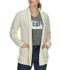 sweater mujer everly sweater algodón vainilla cat
