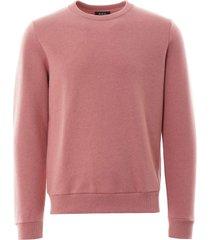 a.p.c capitol sweatshirt   rose   h27383-fae