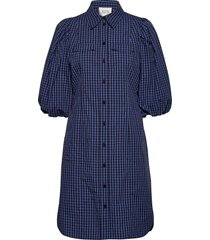 bing dress kort klänning blå second female