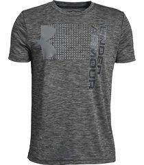 camiseta under armour para niños crossfade gris