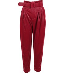 federica tosi polyester trousers