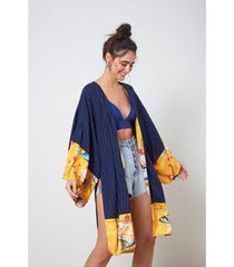 kimono mix com listra listra - oh, boy!