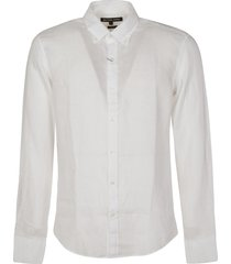 michael kors round hem plain shirt