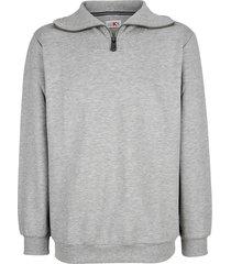 sweatshirt roger kent zilvergrijs
