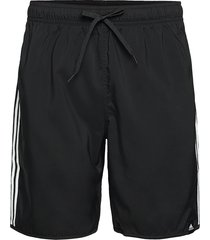 classic-length 3-stripes swim shorts badshorts svart adidas performance