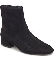 joyce shoes boots ankle boots ankle boot - heel svart vagabond
