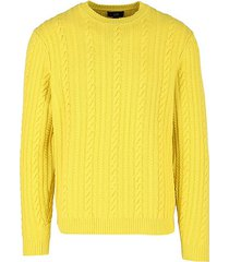 alfred cable knit sweater