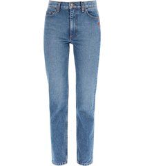 marc jacobs jeans with decorative pin